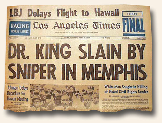 Blog-1-23-2015-Dr.-Martin-Luther-King-Jr-Slain