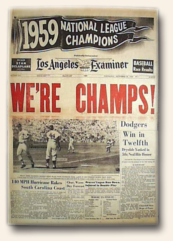 Blog-10-10-2014-Dodgers-Are-Champs-1959