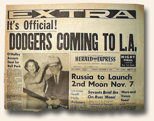 Blog-6-12-2015-Dodgers-Move-To-Los-Angeles