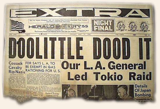 Doolittle Raid - WW2