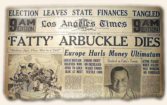Fatty Arbuckle Death