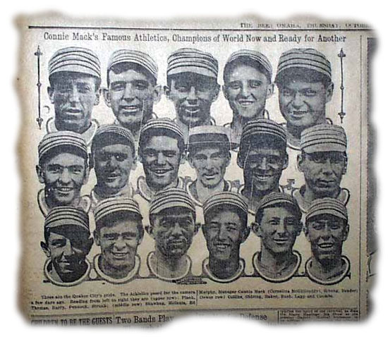 Phialdelphia Athletics 1914 Connie Mack